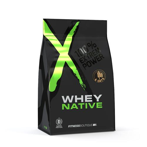 Protéines Petit déjeuner Whey & Oats XNative - Fitnessboutique