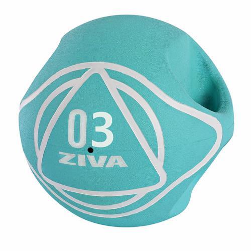 Médecine Ball et Balle lestée Ziva Dual Grip Medicine Ball