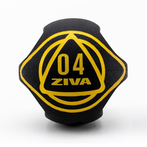 Médecine Ball - Gym Ball Ziva Dual Grip Medicine Ball