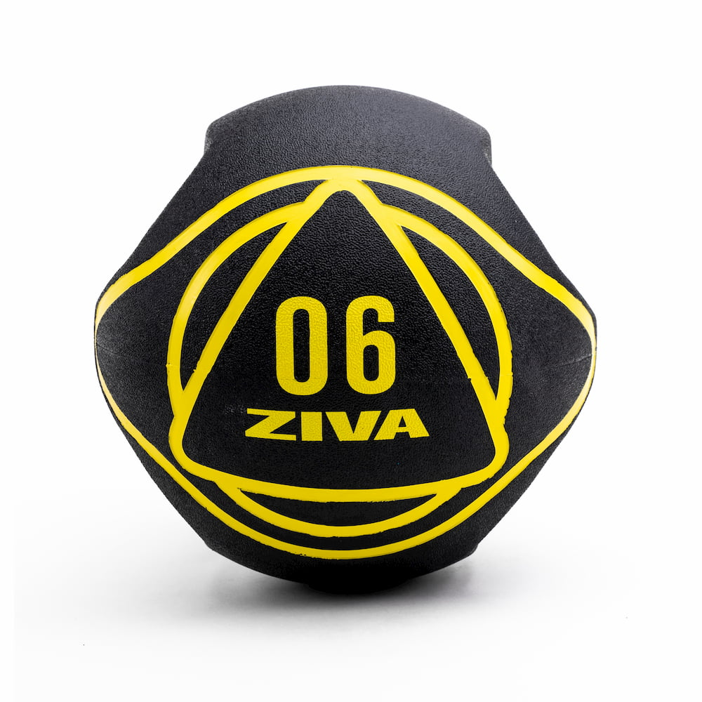 Ziva Dual Grip Medicine Ball