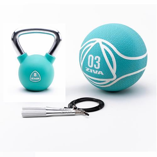 Kettlebells Ziva Functional Kit Urethan